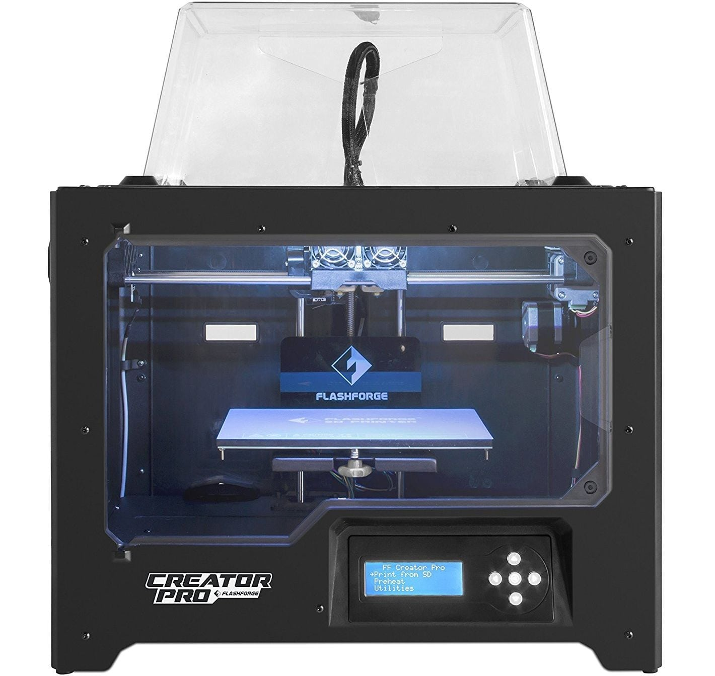 FlashForge Creator Pro miniature 3D printer
