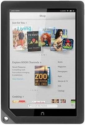 the best tablet for reading Barnes & Noble NOOK Tablet