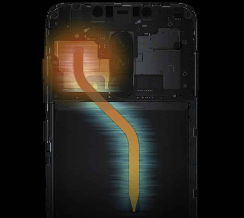 cooling technology Xiaomi Pocophone F1