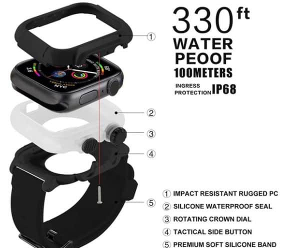 IP68 Waterproof Band review