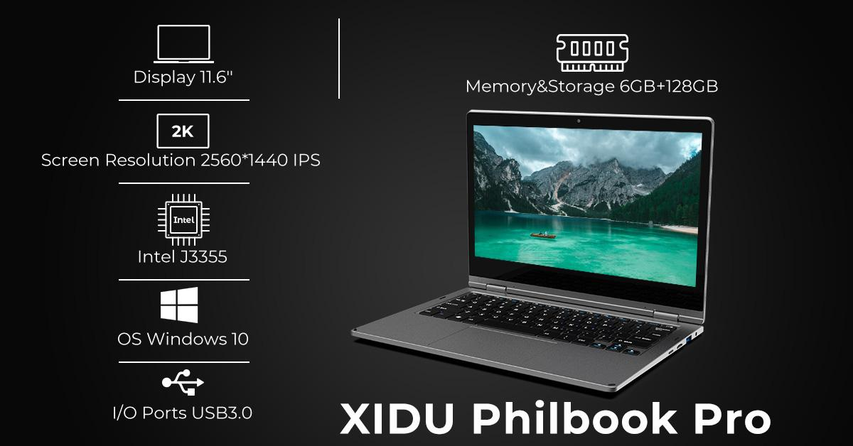 XIDU PhilBook Pro Intel HD Graphics 50