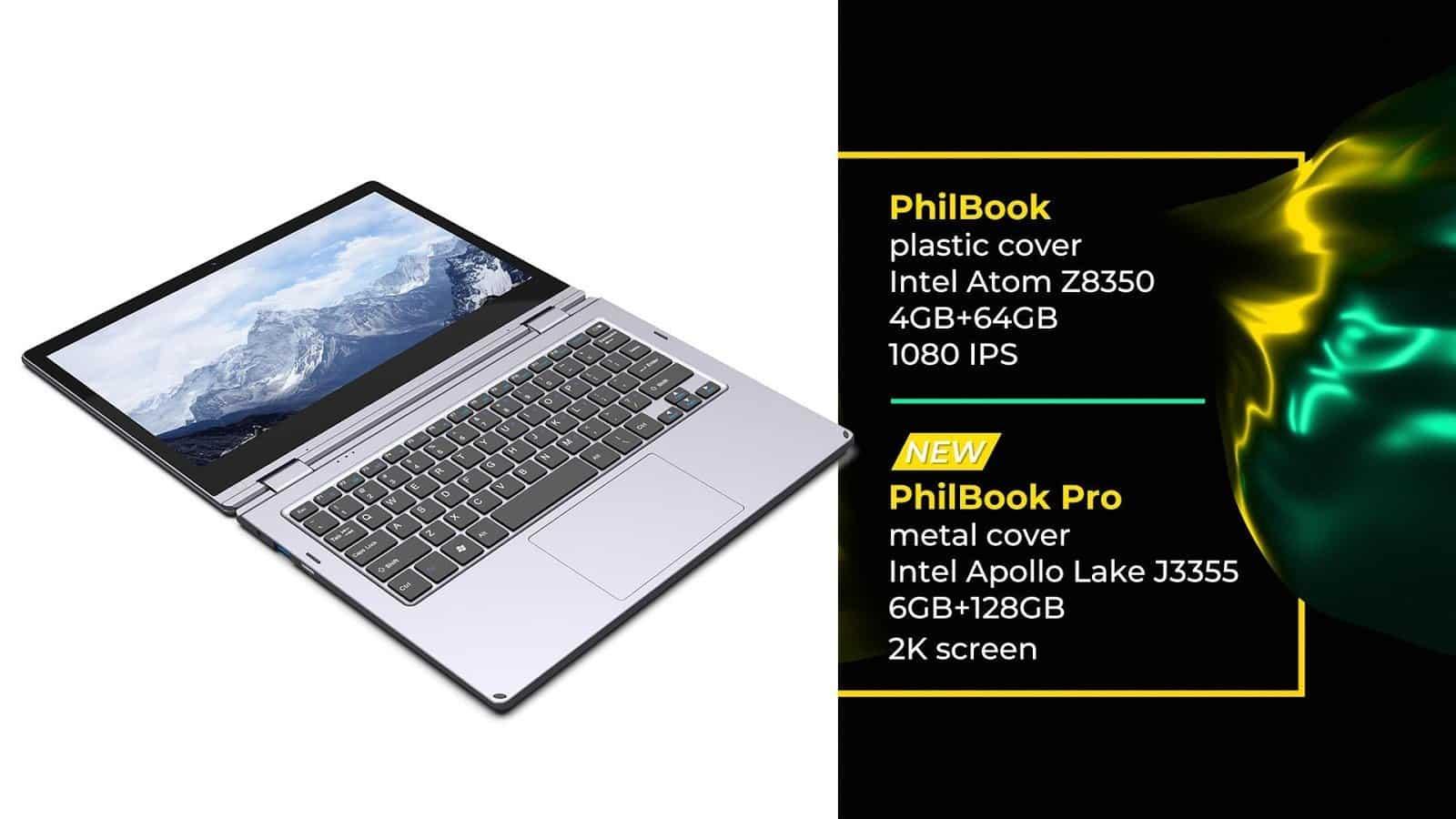 XIDU PhilBook Pro handy laptop