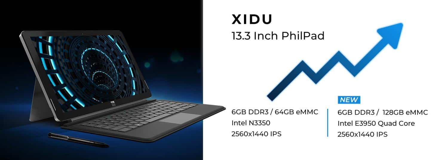 xidu 13.3 inch philpad