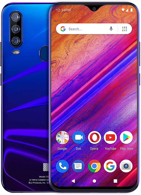 blu g9 pro design