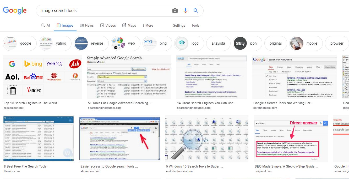 image search tools android