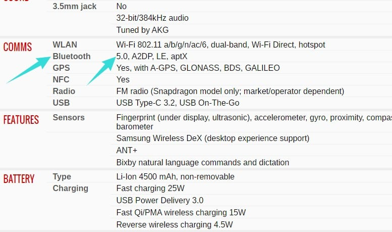 how to upgrade bluetooth version on android