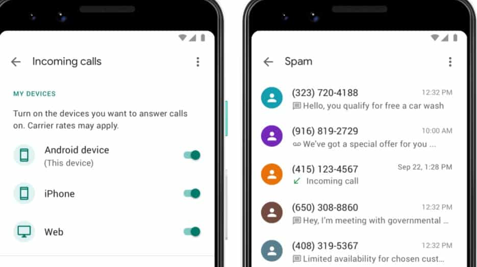 Delete Google Voice Number On Android